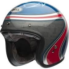 CAPACETE CUSTOM 500 AIRTRIX HERITAGE BLUE RED 56
