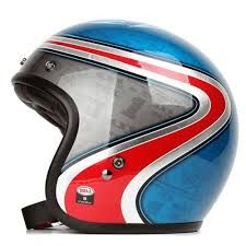 CAPACETE CUSTOM 500 AIRTRIX HERITAGE BLUE RED 60