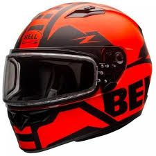 CAPACETE QUALIFIER SNOW ORANGE BLACK 62