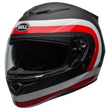 CAPACETE RS-2 CRAVE MATTE GLOSS BLACK WHITE RED 58