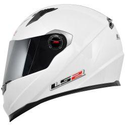 LS2 CAP FF358 MONOCOLOR WHITE 60/L