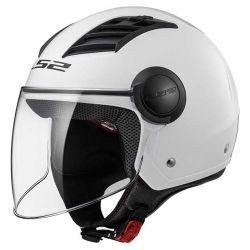 LS2 CAP AIRFLOW OF562 MONOCOLOR WHITE 60/L