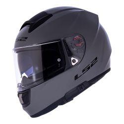 LS2 CAP VECTOR EVO FF397 MONOCOLOR NARDO GREY 60/L