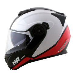 NORISK CAP ROUTE FF345 CHANCE WHT/RED/BLK 61/XL