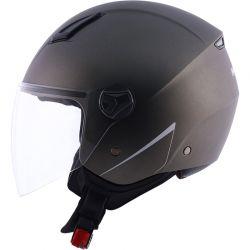 NORISK CAP ORION MONOCOLOR MATTE TITANIUM 60/L